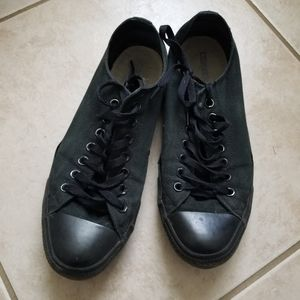 Converse Shoes - All Star Converse black on Black